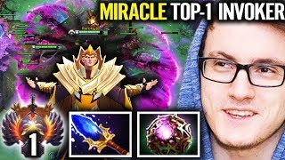 Miracle TOP 1 Invoker One Man Show - Dota 2 BEST Invoker In The World