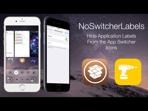 NoSwitcherLabels: Hide Application Labels From the App Switcher Icons
