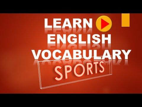 Learn English Vocabulary Using Sports