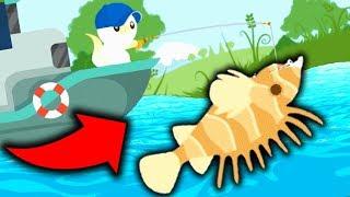 THE RARE EXOTIC FISH! (Cat Goes Fishing)