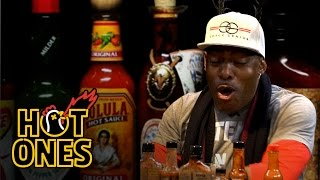 """Coolio Talks Hip-Hop Cooking and """"Gangsta's Paradise"""" Folklore While Eating Spicy Wings 