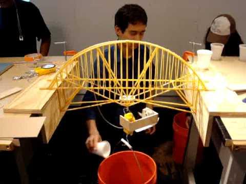 NYIT Structures Pasta Bridge Build Off