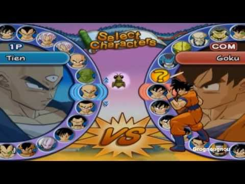 Dragon Ball Z Budokai 3 Collector Edition : All characters costumes / Tous les personnages