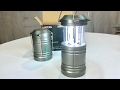 Collapsible Ultra Bright Camping Lantern with Magnetic Base (2 pack) by AuKvi review
