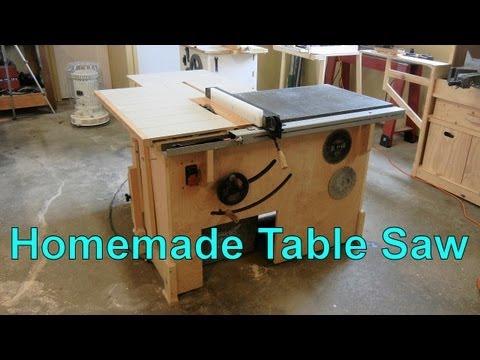 My Homemade Table Saw