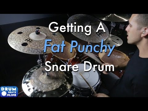 Tuning To Get A Fat Punchy Snare - Drum Lesson | Drum Beats Online