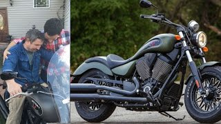Sons buy their father his Dream Motorcycle of over 20 years!