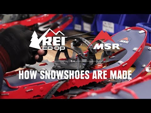 How Snowshoes are Made    REI