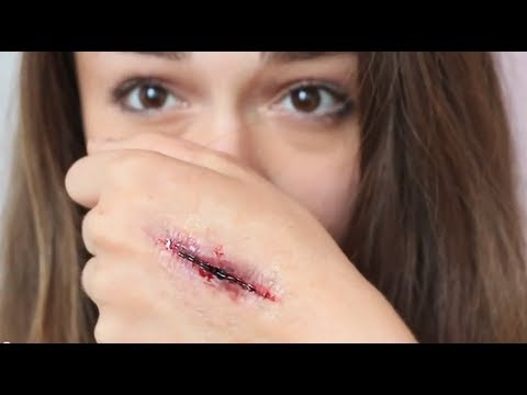 Special Effects Makeup: Stab Wound