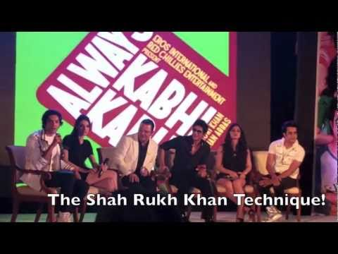 Always Kabhi Kabhi Shah Rukh Khan Press Conference