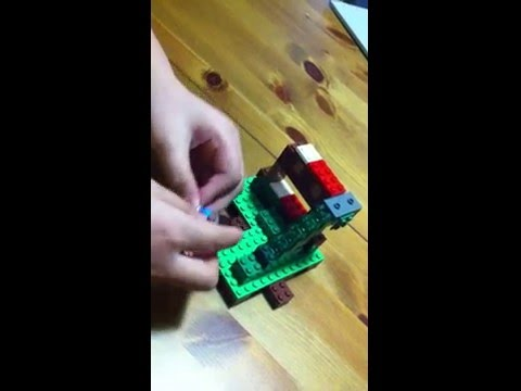 How To Make a Lego MINECRAFT Bunk Bed