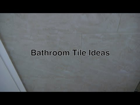 Bathroom Tile Ideas & Designs For Floor + Wall Tiles For Small Modern Bathrooms w/ Ceramic Flooring