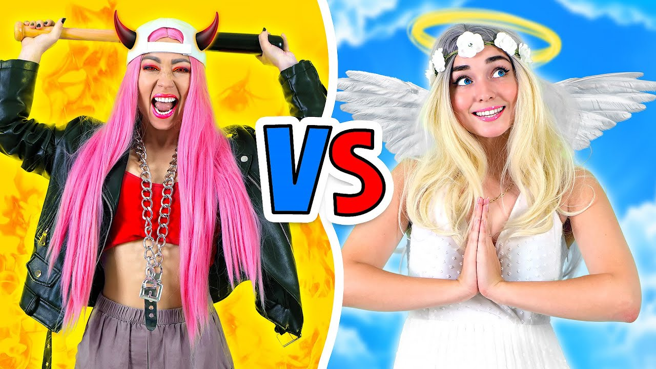 GOOD GIRL VS BAD GIRL | Best Pranks and Funny Struggles by La La Life Musical