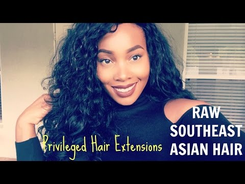 Privileged Hair Extensions First Impressions| R A W H A I R