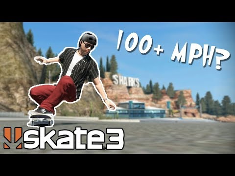Skate 3: How FAST is the INSANE SPEED GLITCH?!