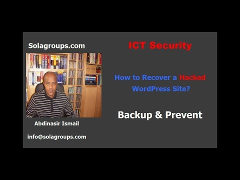 How to Recover a HACKED WordPress Website?