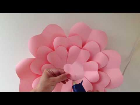 DIY: Paper Flower Assembly (EASY)