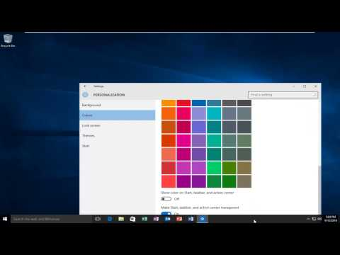 How To Enable Transparency In Windows 10