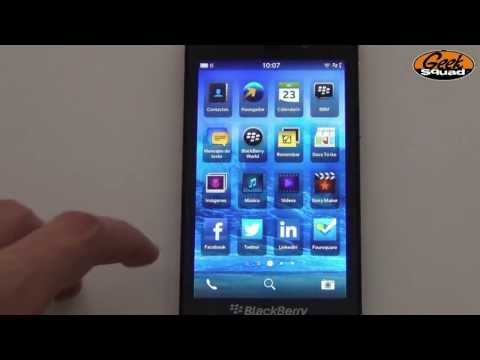 Tip: Cómo configurar una cuenta de correo en Blackberry Z10