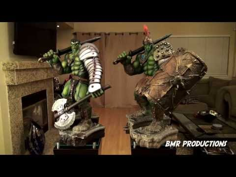 Sideshow Collectibles King Hulk Vs Gladiator Hulk Review