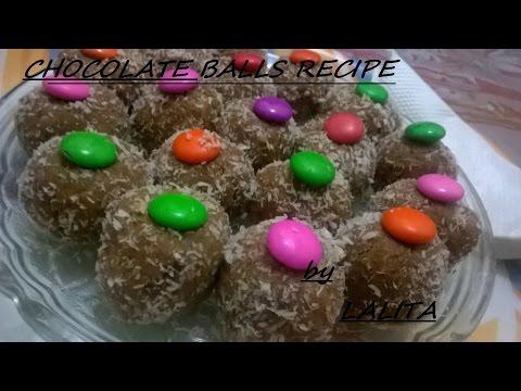 Chocolate Ball Recipe-by LALITA