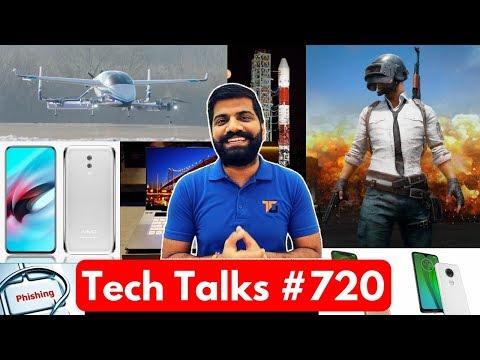 Tech Talks #720 - Meizu Zero, PUBG BAN in INDIA, Boeing Flying Taxi, Xiaomi Dual Fold Phone, Moto G7