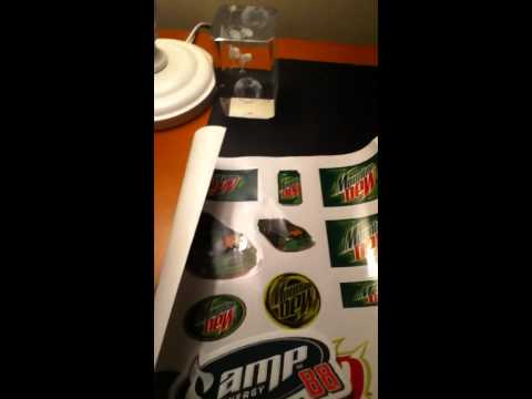 How to get free Mountain Dew stickers
