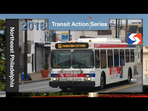 Northeast Philadelphia Buses, March 30th, 2018 - SEPTA Action Series