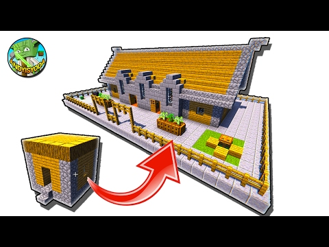 How to Build a Minecraft Village School by andyisyoda