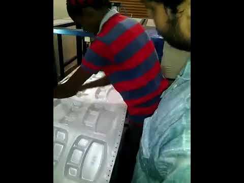 Automatic Tharmocol Plate Making Machine
