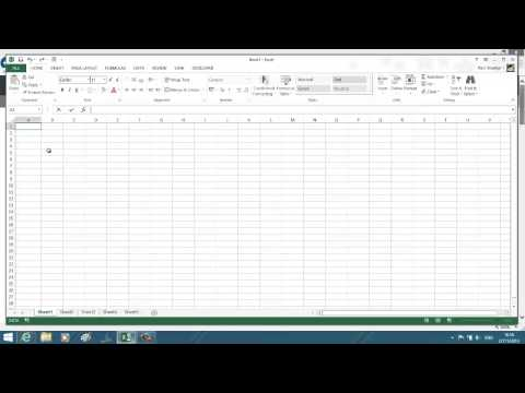 Adjust row height and column width of worksheet in Excel