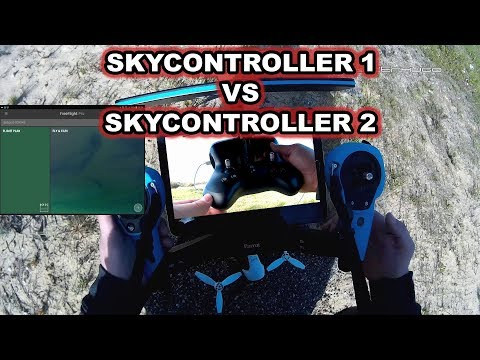 Skycontroller 1 and Skycontroller 2 which of the two reaches the greater distance?