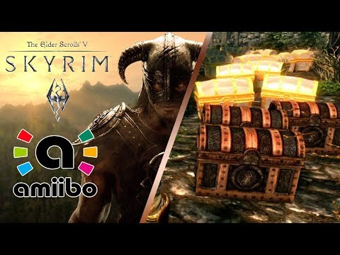 The Elder Scrolls V: Skyrim® - Amiibo! Loot | Master Sword | Hylian Shield | Tunic [Nintendo Switch]