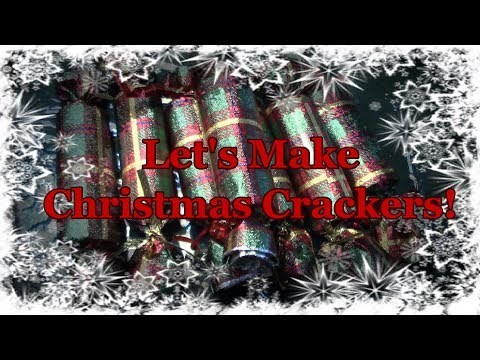 Let's Make Popping Christmas Crackers!