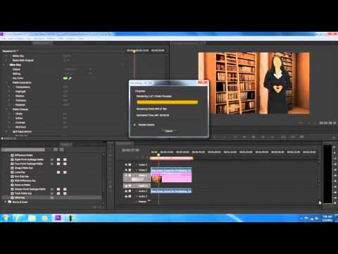 How to remove background in Adobe Premiere