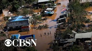 Download Climate change's role in severe storms and extreme flooding Video