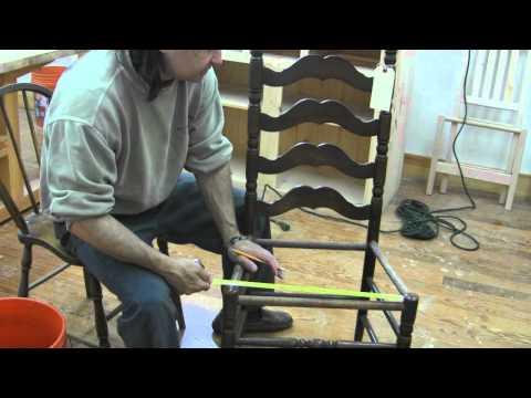 Fiber Rush Chair Weave pt1