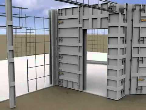 Building Hurricane, Tornado, and Storm Resistant Concrete Homes using Aluminum Concrete Forms