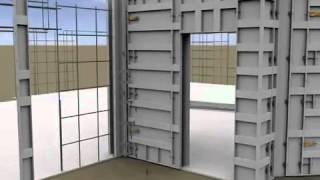 Building Hurricane, Tornado, and Storm Resistant Concrete Homes using Aluminum Concrete Forms