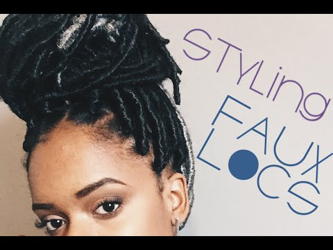 7 Easy Ways To Style Your Faux Locs!