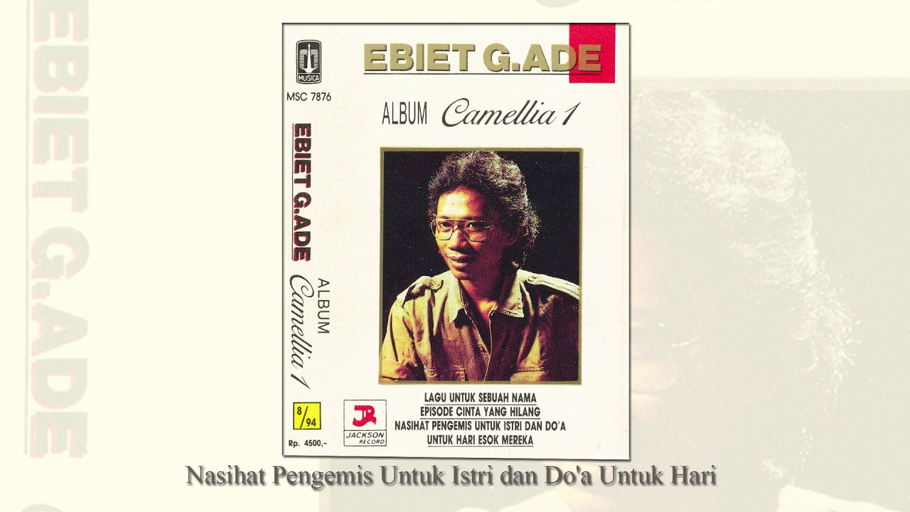 Download Ebiet G. Ade - Nasihat Pengemis Untuk Istri dan Do'a Untuk Hari (Official Audio) MP3 Gratis