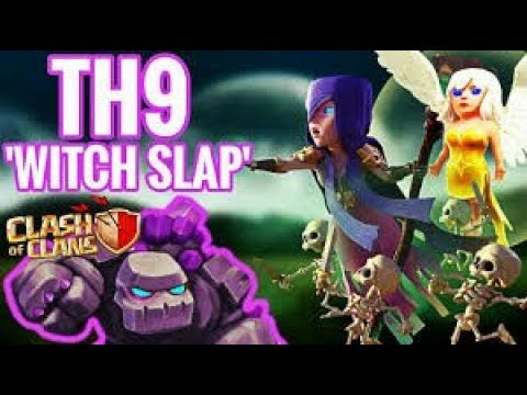 TH11 Anti 3* base defeated!!! | TH9 Witch Slap Tutorial | WAR WIN STREAK 21!!