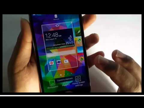 Samsung Galaxy S5 : How to print screen (Android Phone)