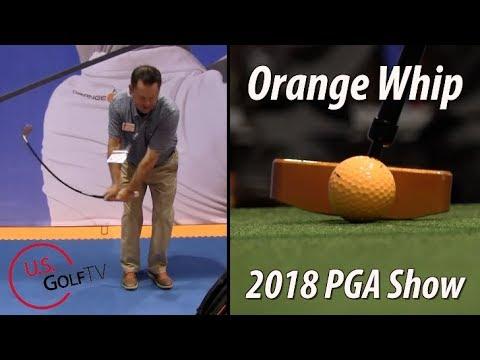 Orange Whip at the 2018 PGA Merchandise Show