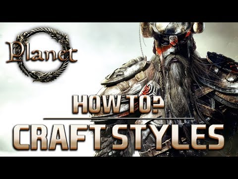 Elder Scrolls Online (ESO) - How to Craft in Different Styles (Guide/Tutorial)