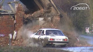 Best Of Rally Crash Spins & Mistakes 2013 [Full HD Action]