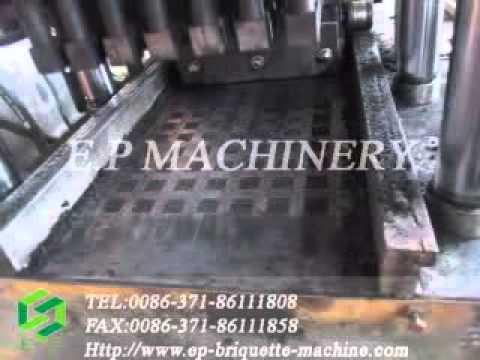 hydraulic pressure coconut shell charcoal Shisha Charcoal Machine