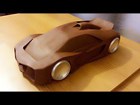 Making A Clay Car Model  1
