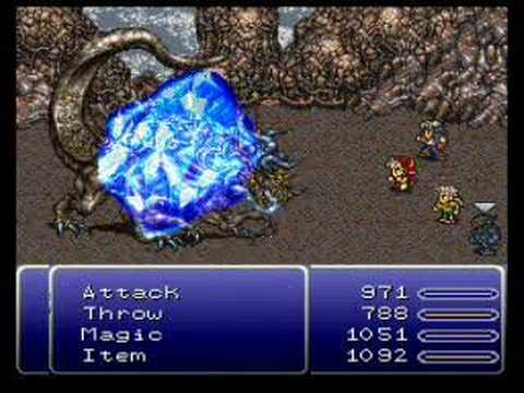 Final fantasy VI Atma Weapon in 56 seconds (No overleveling)