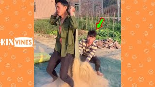 Funny videos 2021 ✦ Funny pranks try not to laugh challenge P192